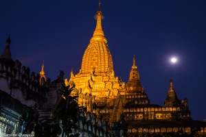 Pleine lune sur Ananda